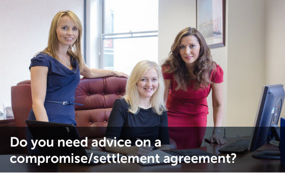 Compromise agreement advice